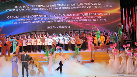 Quang Nam Heritage Festival kicked off