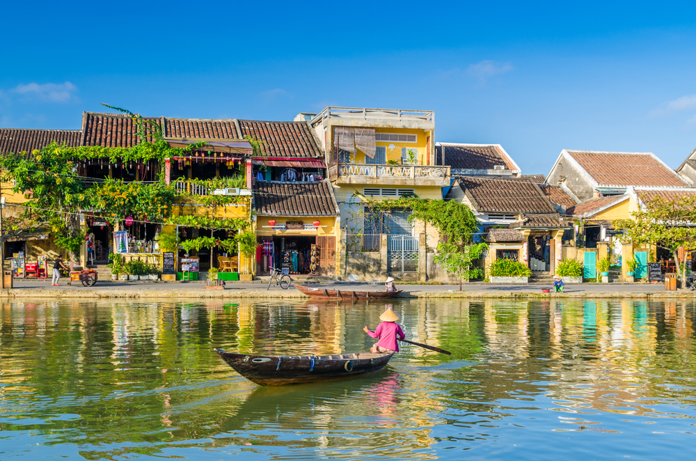 Hoi An and Hue listed in